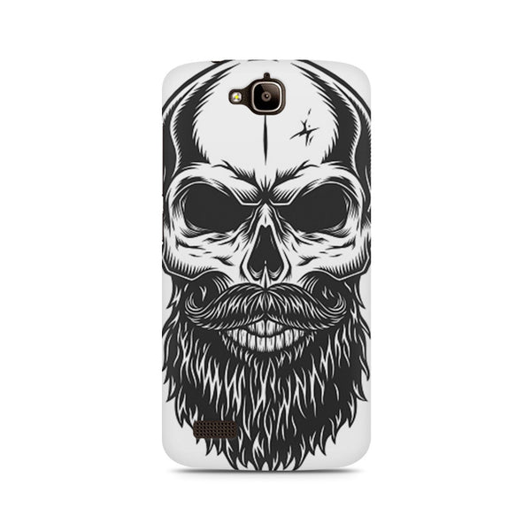 Skull with the beard Huwaei Honor Holly printed back cover