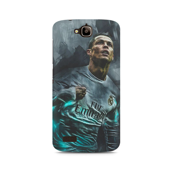 Oil painted Ronaldo Huwaei Honor Holly printed back cover