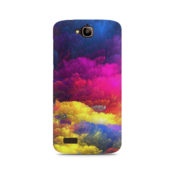 Colour cloud Huwaei Honor Holly printed back cover