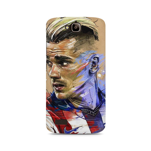 Atlético Madrid Huwaei Honor Holly printed back cover