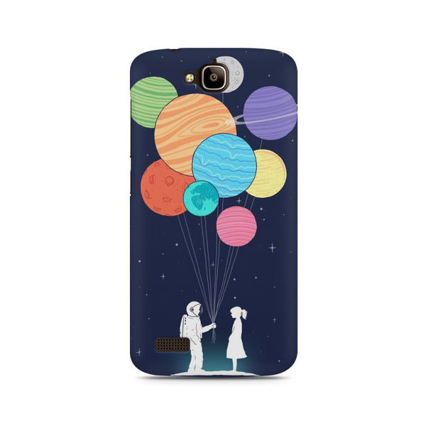 planet balloons Huwaei Honor Holly printed back cover