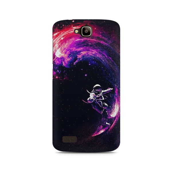 Space ride Huwaei Honor Holly printed back cover
