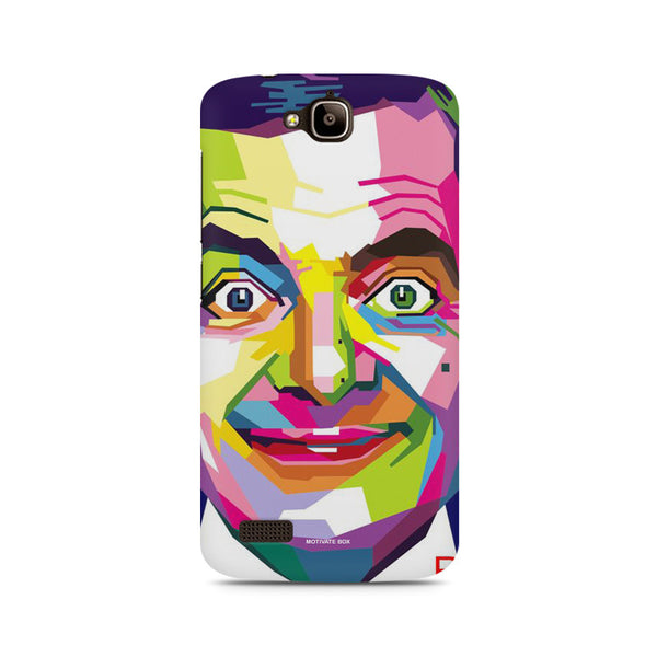 Mr. Bean Smlie Huwaei Honor Holly printed back cover