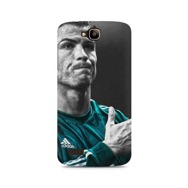 Cristiano Ronaldo goal Huwaei Honor Holly printed back cover