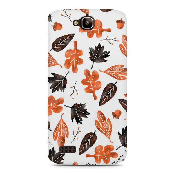 Autumn Leaves Huwaei Honor Holly printed back cover