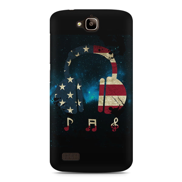America Tunes Huwaei Honor Holly printed back cover