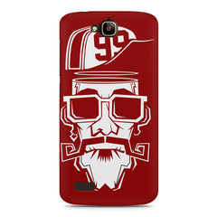 Cool Funky Sportsman With glasses Huwaei Honor Holly printed back cover