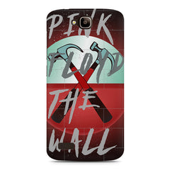 Pink Floyd The Wall Red Album Art Huwaei Honor Holly printed back cover