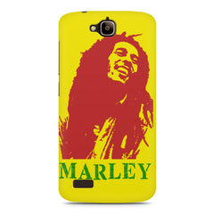 Bob Marley Abstract Red Art Huwaei Honor Holly printed back cover