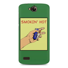 Smokin' Hot Cool Smokers Quotes Huwaei Honor Holly printed back cover