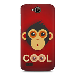 Cool Monkey Eyes Minimalist Huwaei Honor Holly printed back cover