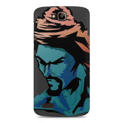 Shiva angry face Huwaei Honor Holly printed back cover