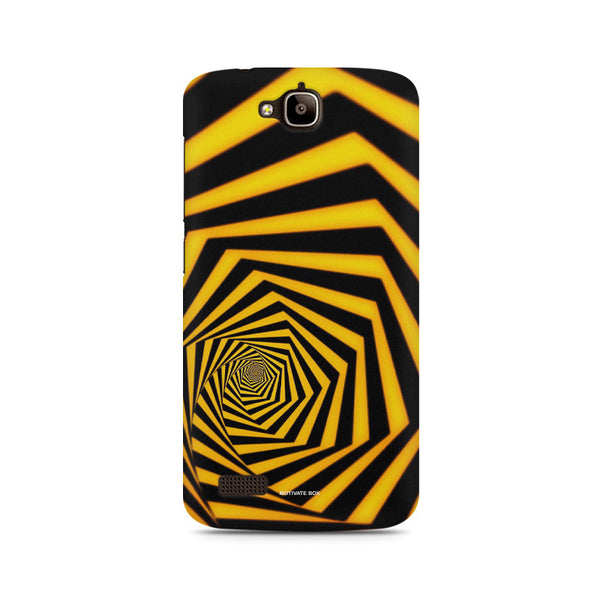 Concentric infinity Huwaei Honor Holly printed back cover