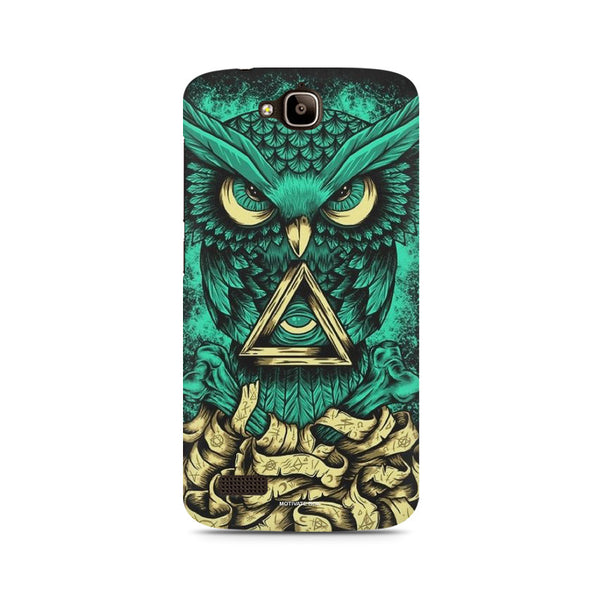 Owl art Huwaei Honor Holly printed back cover