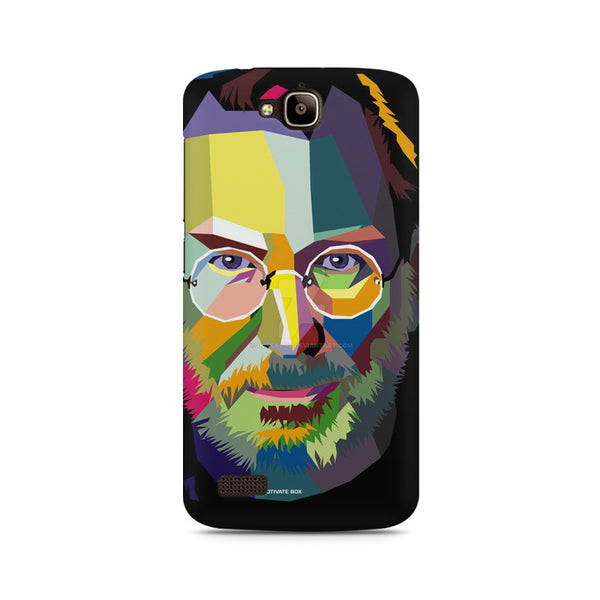 Steve Jobs Pop Art Huwaei Honor Holly printed back cover
