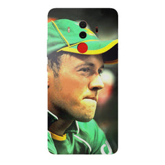 AB de Villiers South Africa   Huawei Honor Matte 10 Pro hard plastic printed back cover.