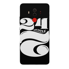 Always hustle design  Huawei Honor Matte 10 Pro hard plastic printed back cover.