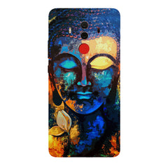 Beautiful Buddha abstract painting full of colors design  Huawei Honor Matte 10 Pro hard plastic printed back cover.