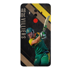 Ab De Villiers the Batting pose Huawei Honor Matte 10 Pro all side printed hard back cover by Motivate box Huawei Honor Matte 10 Pro hard plastic printed back cover.