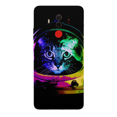 Astro Cat design Huawei Honor Matte 10 Pro all side printed hard back cover by Motivate box Huawei Honor Matte 10 Pro hard plastic printed back cover.