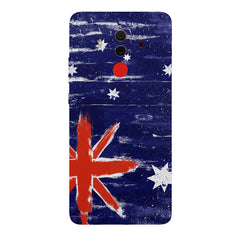 Australian flag design Huawei Honor Matte 10 Pro all side printed hard back cover by Motivate box Huawei Honor Matte 10 Pro hard plastic printed back cover.