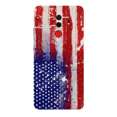 American flag design Huawei Honor Matte 10 Pro all side printed hard back cover by Motivate box Huawei Honor Matte 10 Pro hard plastic printed back cover.