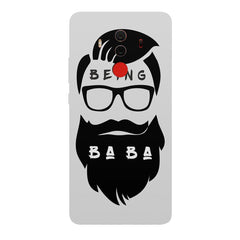 Being BaBa Design Huawei Honor Matte 10 Pro hard plastic printed back cover.