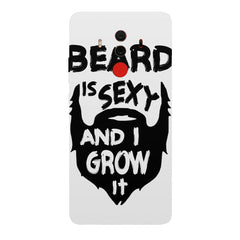 Beard is sexy & I grow it quote design Huawei Honor Matte 10 Pro all side printed hard back cover by Motivate box Huawei Honor Matte 10 Pro hard plastic printed back cover.