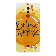 Believe in Yourself Huawei Honor Matte 10 Pro hard plastic printed back cover.