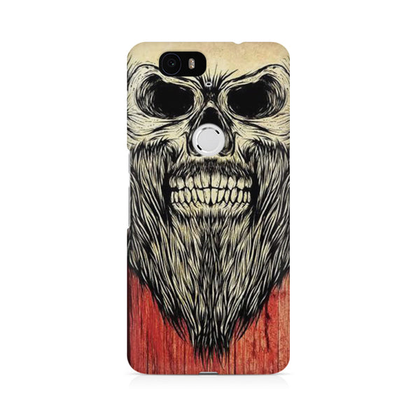 Beard skeleton Huwaei Honor 4C printed back cover