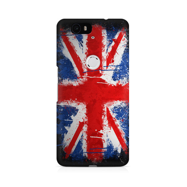 Britain Painted Flag Huwaei Honor 4C printed back cover