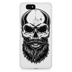 Skull with the beard  design,  Huawei Nexus 6p printed back cover