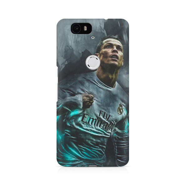 Oil painted Ronaldo Huwaei Honor 4C printed back cover
