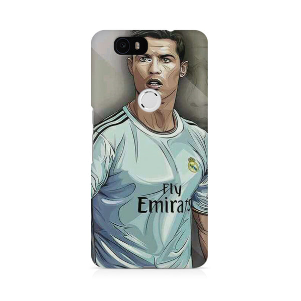 Cristiano Ronaldo Pop Art Huwaei Honor 4C printed back cover