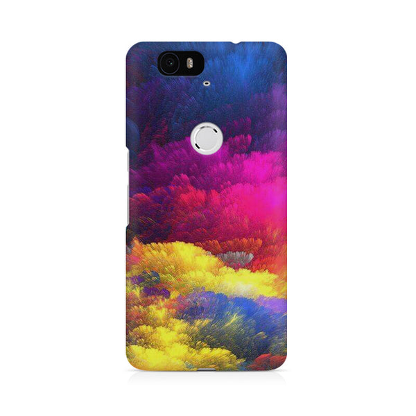 Colour cloud Huwaei Honor 4C printed back cover