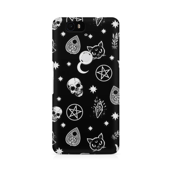 Skulls Huwaei Honor 4C printed back cover