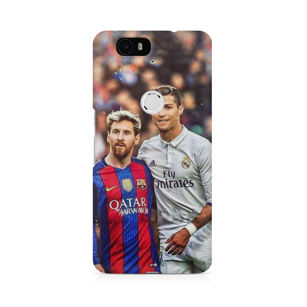 Messi Ronaldo Huwaei Honor 4C printed back cover