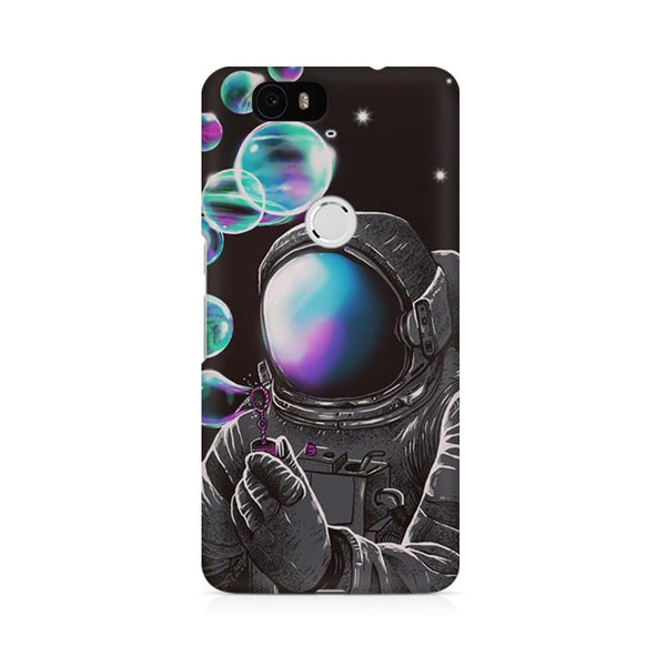 Space Funny Astronaut Huwaei Honor 4C printed back cover