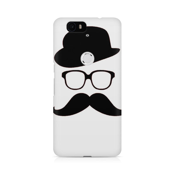 moustache Huwaei Honor 4C printed back cover