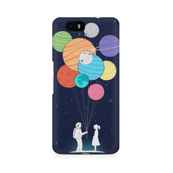 planet balloons Huwaei Honor 4C printed back cover