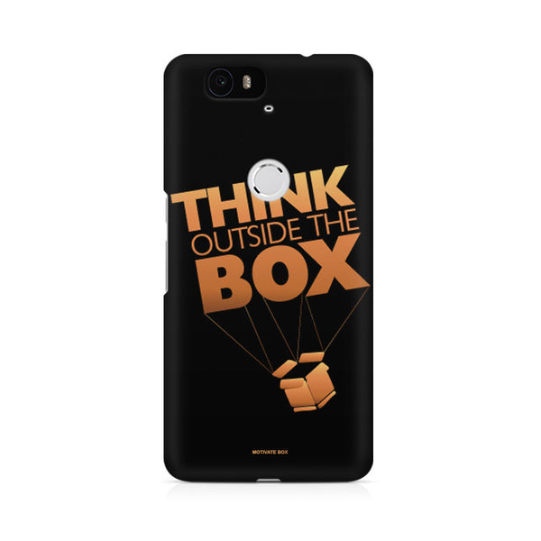 Think Outside the box- entrepreneur lines Huwaei Honor 4C printed back cover