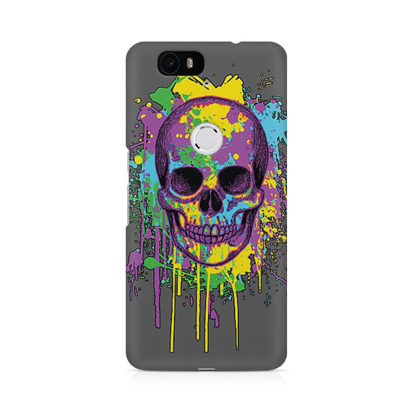Skull abstract Huwaei Honor 4C printed back cover