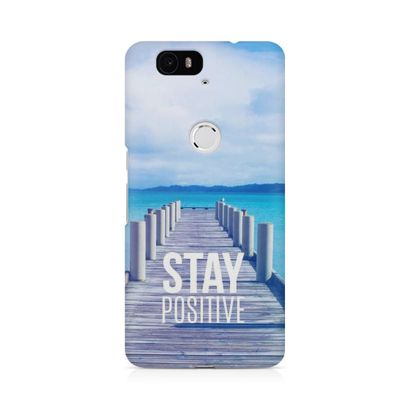 Stay Positive Huwaei Honor 4C printed back cover