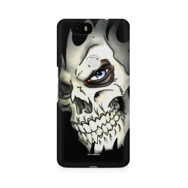 The Burning Skull Huwaei Honor 4C printed back cover