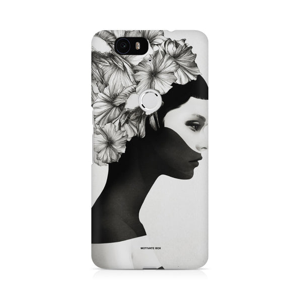 Majestic Lady Design Huwaei Honor 4C printed back cover