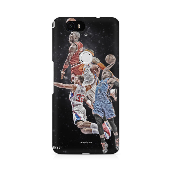 Basket ball design Huwaei Honor 4C printed back cover