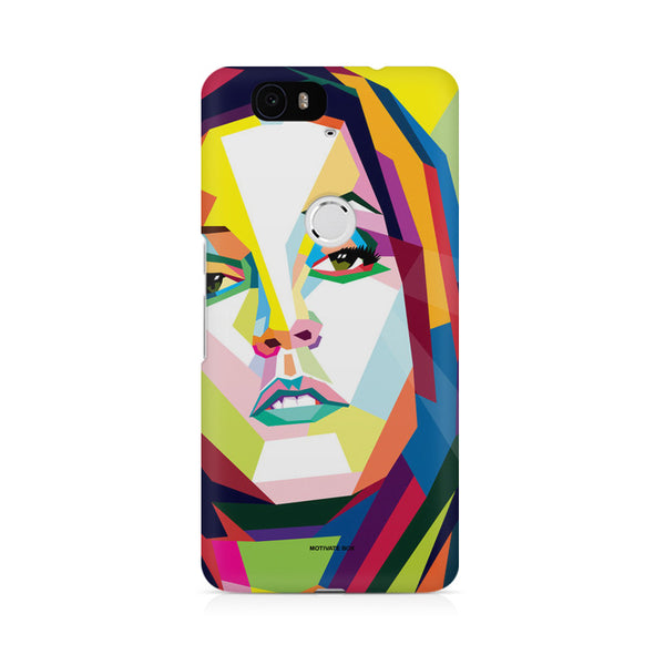 Lisa Pressley Pop Art Huwaei Honor 4C printed back cover