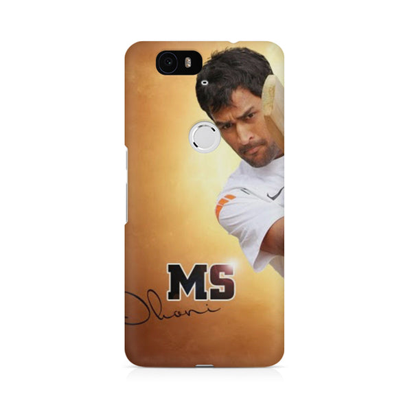 M.S. Dhoni Bat Huwaei Honor 4C printed back cover