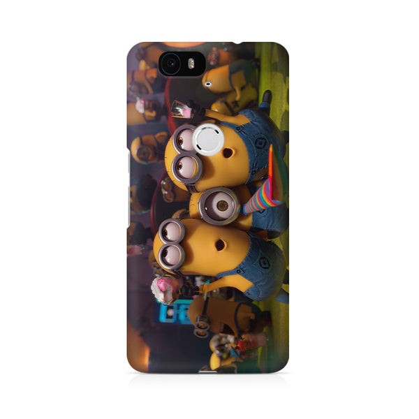Minion's party Huwaei Honor 4C printed back cover