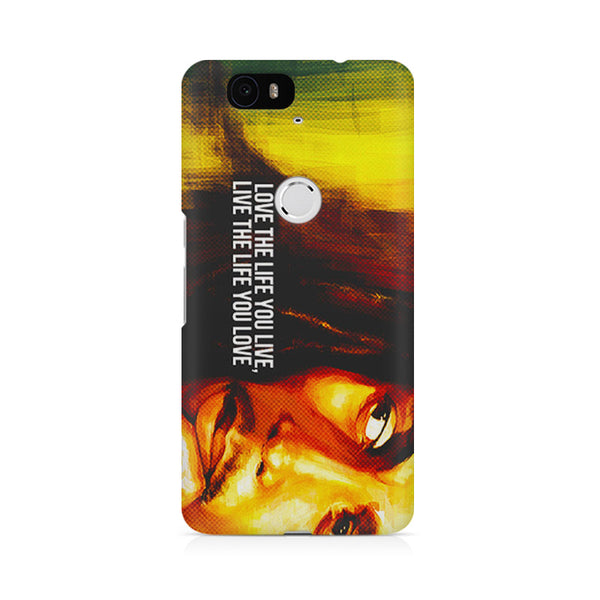 Bob Marley life quote Huwaei Honor 4C printed back cover